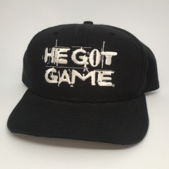 vintage original 1998 He Got Game new era movie promo snapback hat spike lee