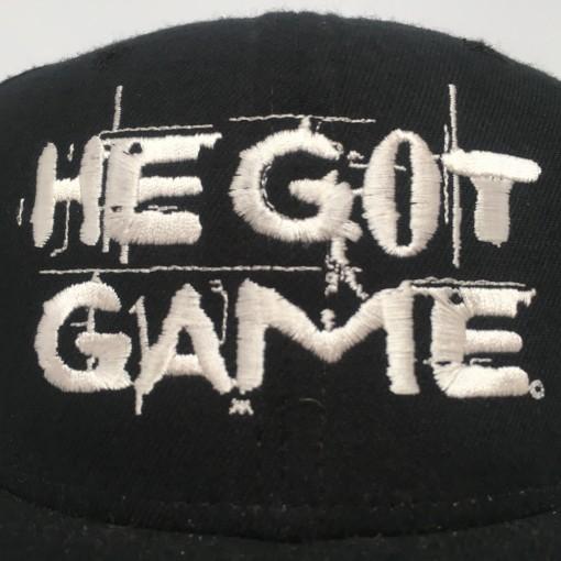1998 He Got Game New Era promo movie snapback hat