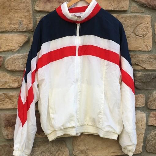 vintage christian dior deadstock 80's windbreaker jacket