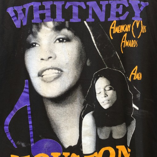 original 1992 Whitney houston I will always love you t shirt
