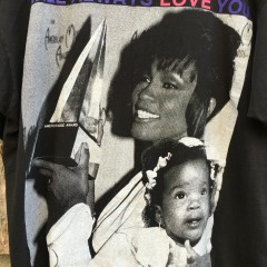 vintage 1992 whitney houston t shirt