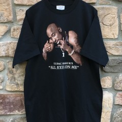 vintage 1996 tupac shakur all eyes on me t shirt