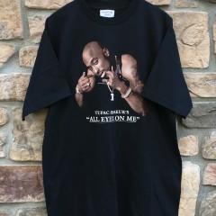 vintage 1996 tupac shakur all eyes on me t shirt