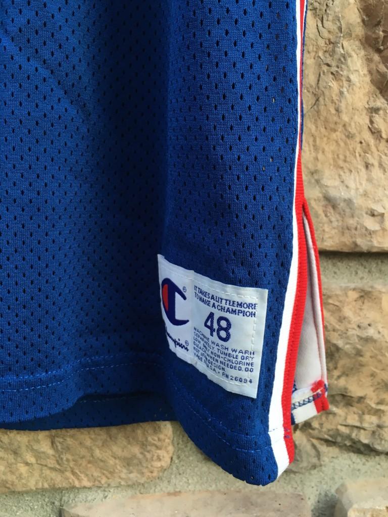 d2de4726c authentic Champion New Jersey Nets Kenny Anderson jersey. size 48 Champion  authentic NBA jersey
