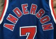 Kenny Anderson New Jersey Nets authentic Champion NBA jersey size 48