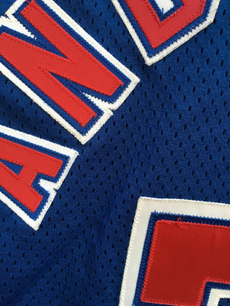 2272ddad6 1994 Kenny Anderson New Jersey Nets Authentic Champion NBA Jersey ...