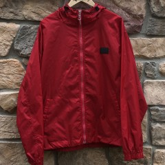 vintage 90's Tommy Hilfiger Red windbreaker jacket size large