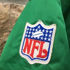NFL patch on vintage starter satin jacket