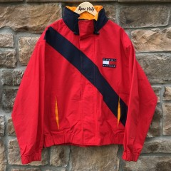 vintage 90's Tommy Hilfiger color block jacket size large