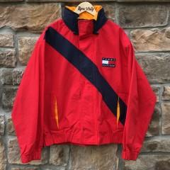 vintage 90's Tommy Hilfiger color block jacket size large