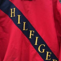 vintage 90's Tommy Hilfiger jacket size large red