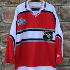2001 nhl all star jersey world red CCM size XL