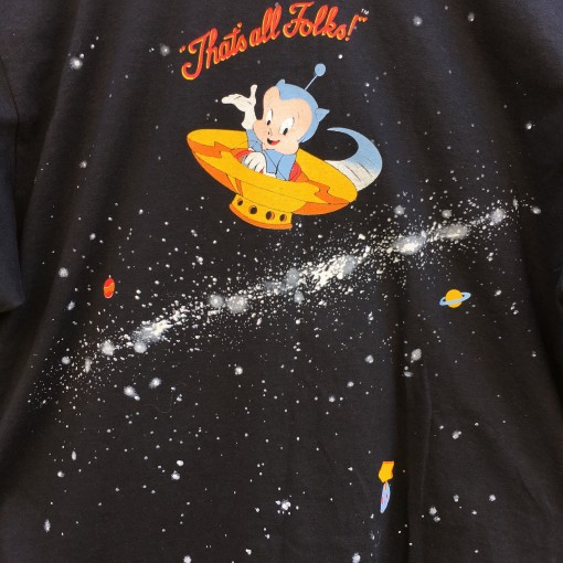 Deadstock vintage 90's that's all folks nike looney tunes t shirt