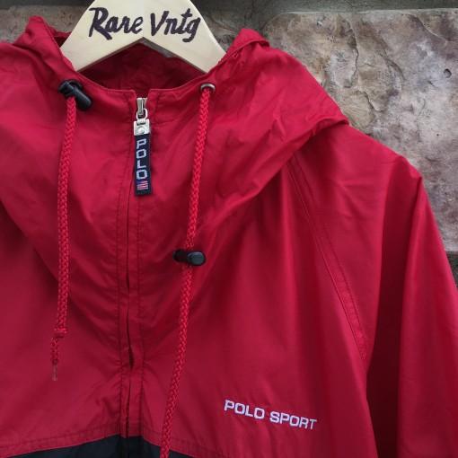 vintage 90's Polo Sport windbreaker jacket size XXL