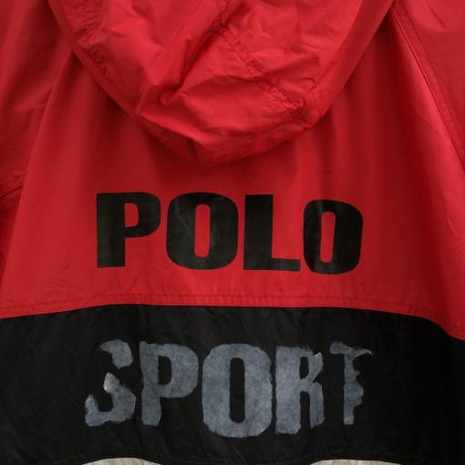 vintage 90's Polo Sport color block jacket
