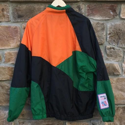 vintage apex one color block jacket