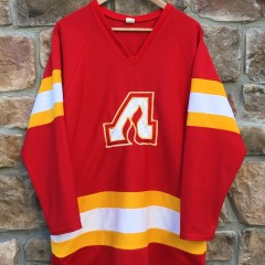 vintage original Atlanta Flames NHL hockey jersey