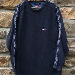 vintage 90's Tommy Hilfiger Tommy Jeans crewneck sweater size medium