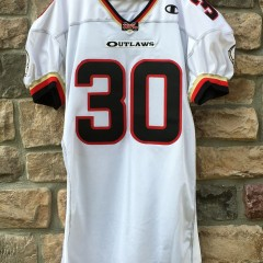 2001 Rod Smart He Hate Me Las Vegas outlaws authentic Champion XFL jersey size 52