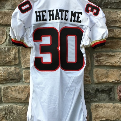 He Hate Me Rod Smart Las Vegas Outlaws XFL jersey size 52