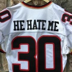 authentic white he hate me rod smart las vegas outlaws jersey