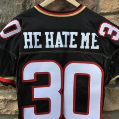 vintage authentic He Hate Me Rod Smart XFL jersey size 50