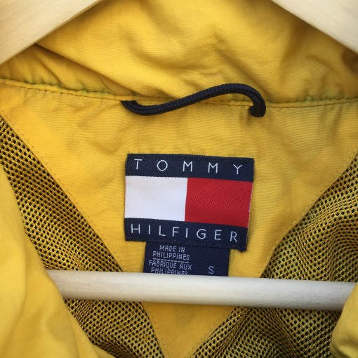 vintage 90's Tommy Hilfiger Colorblock jacket size small