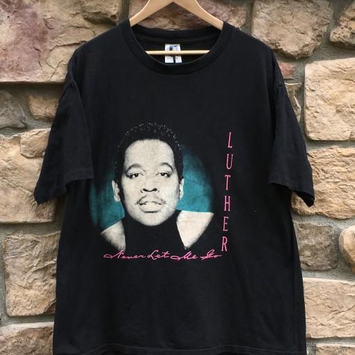 vintage luther vandross en vouge 1993 concert t shirt