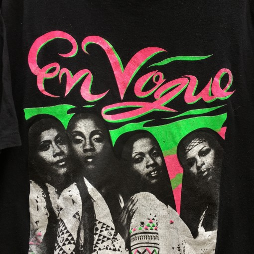 vintage en vogue luther vandross concert t shirt 1993 90's