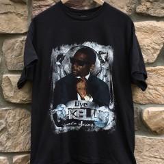 vintage r kelly live concert t shirt