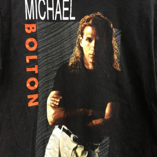 vintage 90's Michael Bolton Concert t shirt