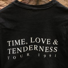 time, love & tenderness tour 1991 t shirt