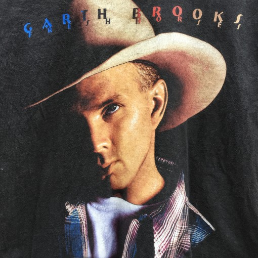 vintage 90's garth brooks concert t shirt