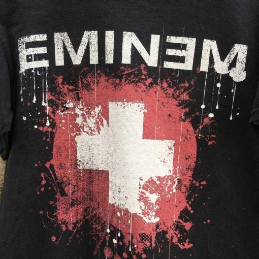 vintage eminem concert t shirt