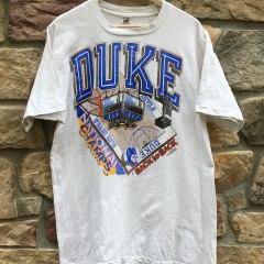 vintage 1992 Duke Blue Devils march madness ncaa champions t shirt