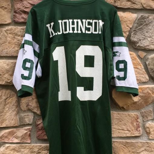 Keyshawn Johnson New York Jets NFL jersey