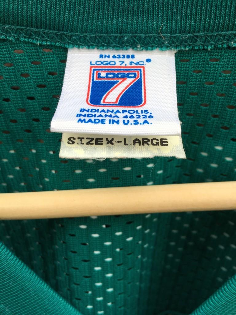 0a66a2aa22d vintage 90's Dan Marino Miami Dolphins aqua NFL jersey size XL. vintage  size XL logo athletic NFL jersey