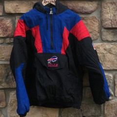 vintage 90's Buffalo Bills Starter pullover jacket