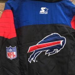 vintage 90's Starter pullover jacket black