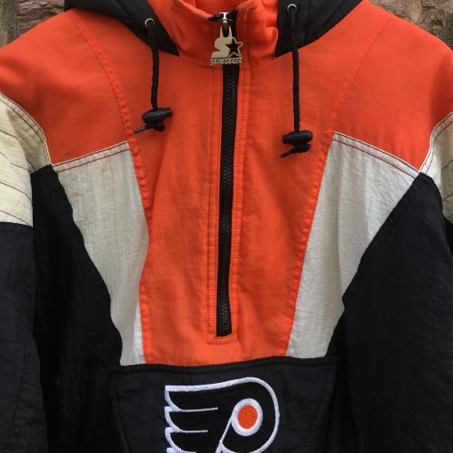 vintage Philly Flyers Starter NHL jacket size large