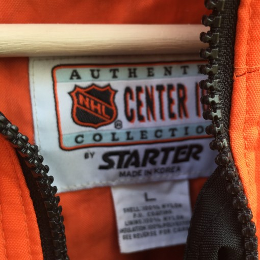 vintage Center Ice Starter NHL pullover jacket
