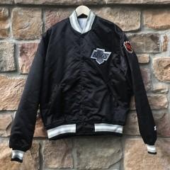 vintage 90's Los Angeles Kings Starter Satin NHL jacket
