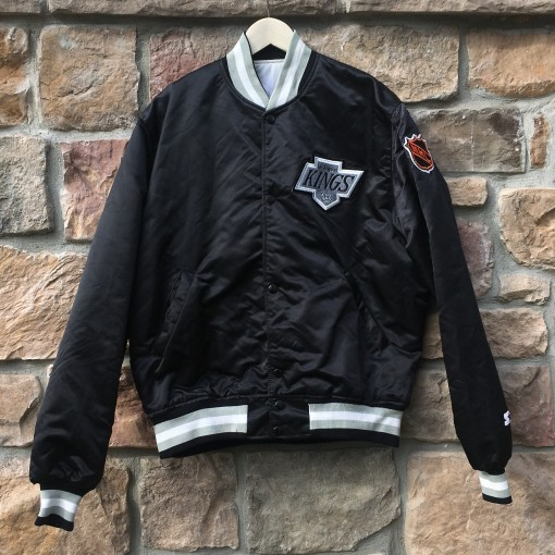 vintage 90's Los Angeles Kings Starter Satin NHL jacket