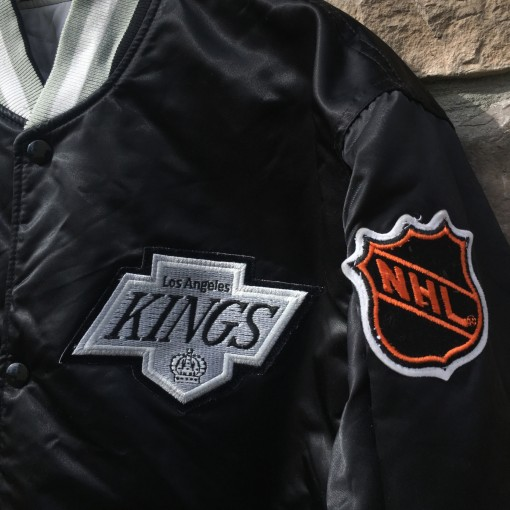 vintage Los Angeles kings starter satin NHL jacket
