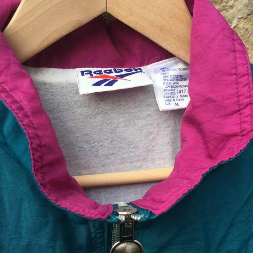 vintage 90's Reebok windbreaker jacket