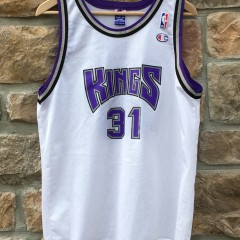 vintage Sacramento Kings Scott Pollard Champion NBA jersey