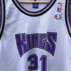 vintage 90's Sacramento Kings champion nba jersey
