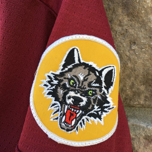 chicago wolves jersey patch