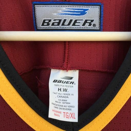 vintage bauer minor league jersey