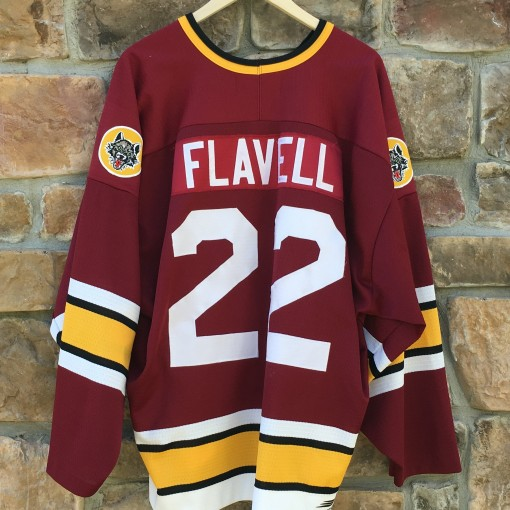 flavell chicago wolves IHL jersey
